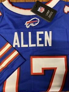 Authentic Nike Josh Allen Buffalo Bills Mens Jersey Limited Stitched large