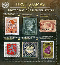 Micronesia 2015 MNH First Stamps UN United Nations Member States 6v M/S III