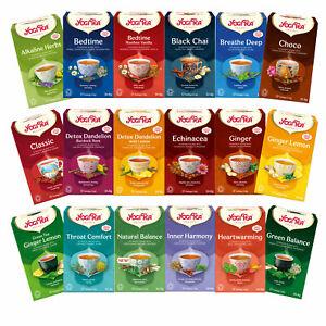 Yogi Ayurvedic Herbal Organic Tea Sachets Choose from Full Range of 49 Varieties