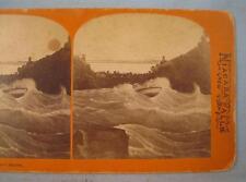 Stereoview George E Curtis Maid Of The Mist Whirlpool Rapids Niagara Falls (O)