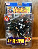 Venom Vintage Spider-Man Classics Action Figure New Toybiz 2000 Marvel Legends