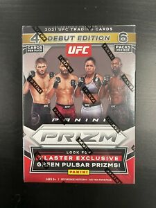 2020-2021 UFC Panini Prizm Blaster Box Green Pulsar Prizms Factory Sealed