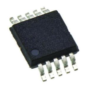 1 x Texas Instruments TLV2453CDGS, Dual Op Amp, 220kHz Rail-Rail, 3V, 5V, 10-Pin