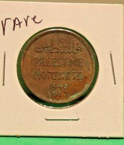 1946 Palestine Copper Coin Rare Coin