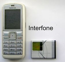Nokia 6070 Mobile Camera Phone-Locked Orange-Avg.Cond-Optional Charger Bundle