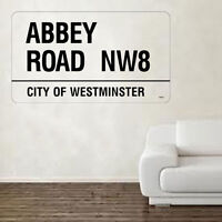Abbey Road Decal Vinyl Wall Sticker