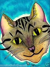 Original Color Pencil Art Print Direct from Artist mystudiointhenati SAWYER CAT