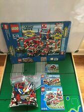 LEGO- CITY- FIRE STATION- 7945- 100% COMPLETE SET-  W/ BOX