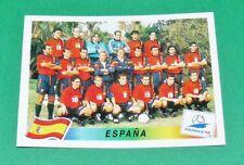 N°228 EQUIPE ESPAGNE ESPAÑA PANINI FOOTBALL FRANCE 98 1998 COUPE MONDE WM