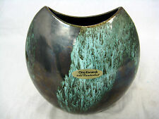 Well shaped / formschöne  70´s design Otto Keramik pottery  vase  13 cm