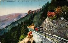 CPA Aix-les-Bains Chemin de Fer du Revard, Une Tranchée (681695)
