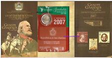 2 Euro Commémorative de Saint-Marin 2007 (BU) GIUSEPPE GARIBALDI NE à NICE 1807