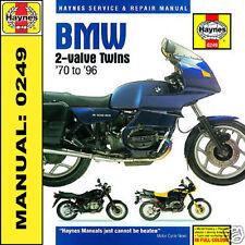 BMW R45 R50 R65 R75 R80 R100 R100RT 1970-1996 Haynes Manual 0249 NEW