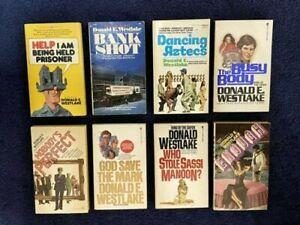 DONALD E. WESTLAKE Book Collection (8 Vintage Paperbacks)