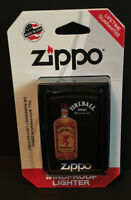 Fireball Whiskey Zippo Lighter, IGNITE THE NITE CINNAMON WHISKY