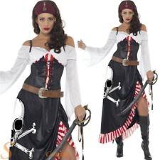 Disfraces de mujer piratas color principal negro