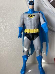 """DC Comics Jakks Pacific Batman 19"""" Action Figure Blue vintage toy"""