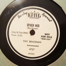 TINY BRADSHAW Spider Web/The Gypsy KING PROMO 4727 Exc 78RPM R&B HEAR