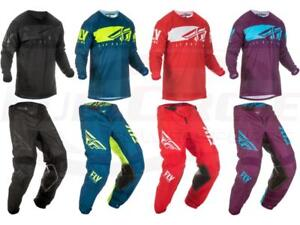 Fly Racing Kinetic Shield Jersey Pant Combo Set MX Riding Gear MX/ATV Motocross