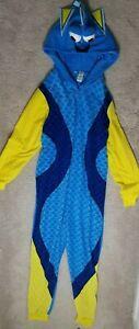 Disney Finding Dory Women's Hooded One Piece Pajamas Sz XL (16/18)