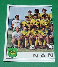 N°184 EQUIPE TEAM PARTIE 1 FC NANTES FCN CANARIS PANINI FOOTBALL 84 1983-1984