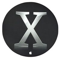 Official Apple Computer Mouse Pad Collector Black Mac OS X 2003 NEW