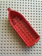 LEGO 2551 BOAT, OARLOCKS 14x5x2 Red. From sets 6276, 6265, 6262 etc
