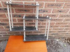 Retro Shelf with Plastic Barley Twist Struts