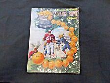 1951 Football Orange Bowl Program Magazine Miami vs. Clemson