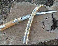 Arabic Dagger Silver Damascus  sword Turkish Ottoman Jambiya Khanjar