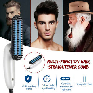 Multifunctional Men/Women Portable Electric Hair Straightener Comb Beard