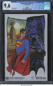 Batman/Superman #15 2020 CGC 9.6 - Joshua Williamson story, Travis Charest cover