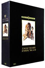"""DR. ZHIVAGO"" (Omar Sharif) Deluxe DVD Box Set - NUEVO - Raro & Deleted"