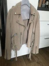 AllSaints Women's Suede Biker Jackets Coats, Jackets & Waistcoats for Women