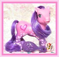 ❤️My Little Pony G3 2006 FANCY FREE Pretty Patterns Hearts Crystal Princess❤️