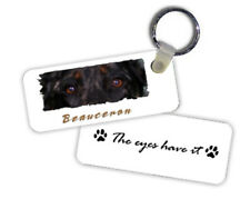 """Beauceron """" The Eyes Have It """" Key Chain"""