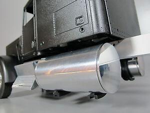 Pair 4 inch Fuel Gas Tanks + J Mount Set Tamiya RC 1/14 Knight Grand King Hauler