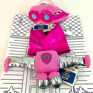 Paw Patrol Build A Bear Puppy Skye Outfit Hat Coat Jetpack New with Tags