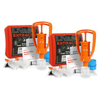 2x LIVABIT First Aid Safety Tool Kit Emergency Venom Snake Bite Extractor Pump