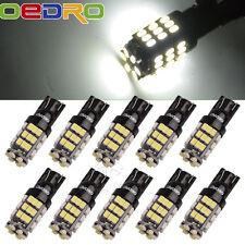 oEdRo 10 x 6000K Xenon White LED T10 921 912 42SMD Backup Reverse Light Bulb 12V