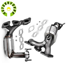 Exhaust Catalytic Converter Manifold for 01-06 Ford Escape Mazda Tribute 3.0L V6