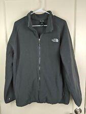 The North Face Black Full Zip Fleece Jacket Coat Men's Size; XL