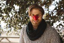 NOSE WARMER. RED FLEECE. FREE P&P! Perfect Secret Santa. Design Registered.