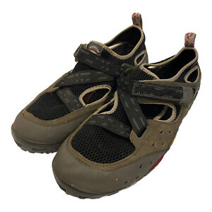 Timberland Mens Green Leather Mesh Outdoor Performance Water Shoes Size 12 M