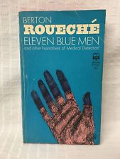 Htf 1965 Pb Eleven Blue Men and Other Tales of Medical Detection Berton Roueche