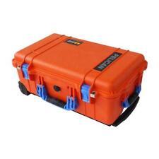 Orange & Blue Pelican 1510 case. With Foam.