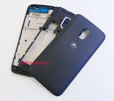 Complete Housing Shell Case Cover For Motorola Moto G4 Play XT1607 XT1609 Black