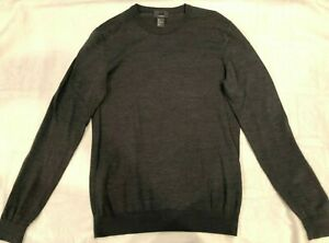 H & M - Silk Blend - Crew Neck Sweater - Gray - Size S - Near Perfect Condition