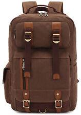 KAUKKO Men Casual Laptop Backpacks 15.6'' Fashion Notebook Rucksack Hiking Bags