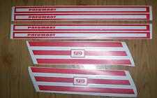 Seitenkoffer,Koffer,Aufkleber,MZ,ETZ,ETS,ES,DDR,Gepäcktasche,Krad,Oldtimer,
